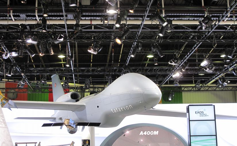 Airbus arms firm leads consortium for European long-range armed drone project