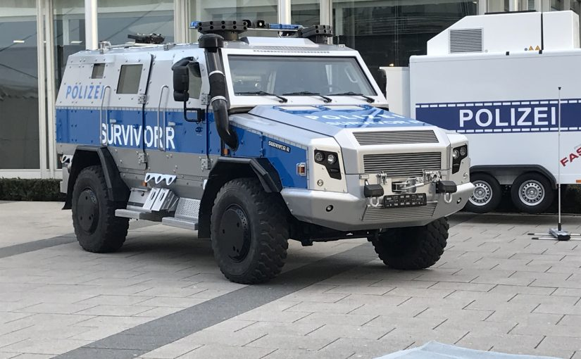 More tanks for German police
