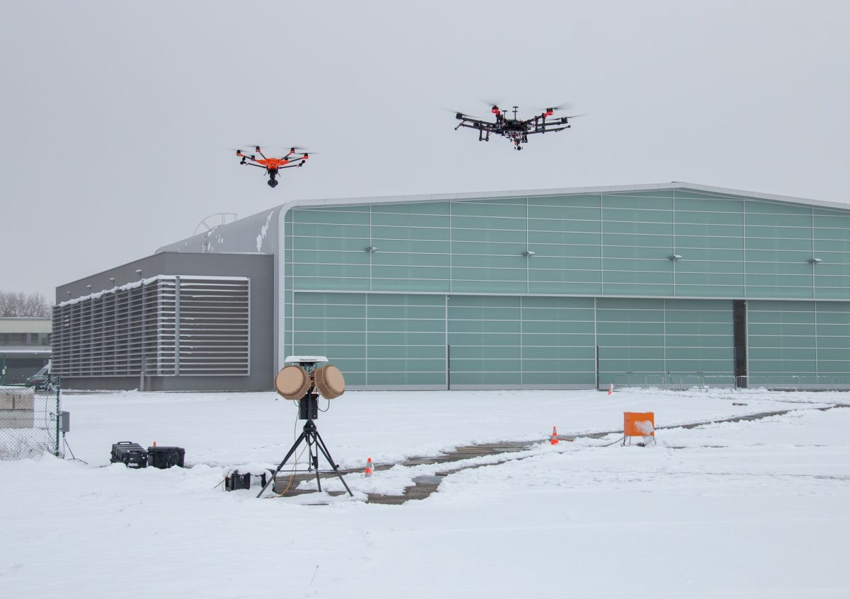 Fight against small drones: Police use military technology