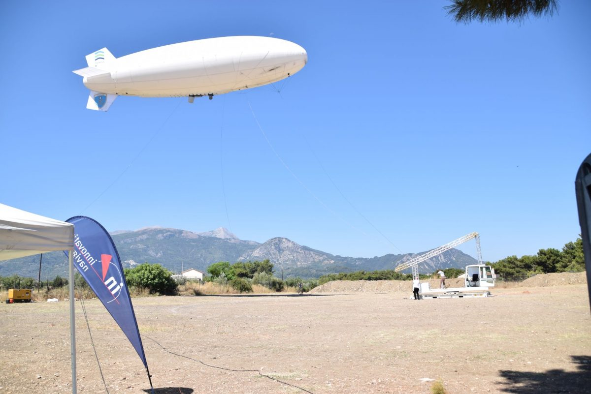 EU external borders: Frontex ends test with unmanned airship