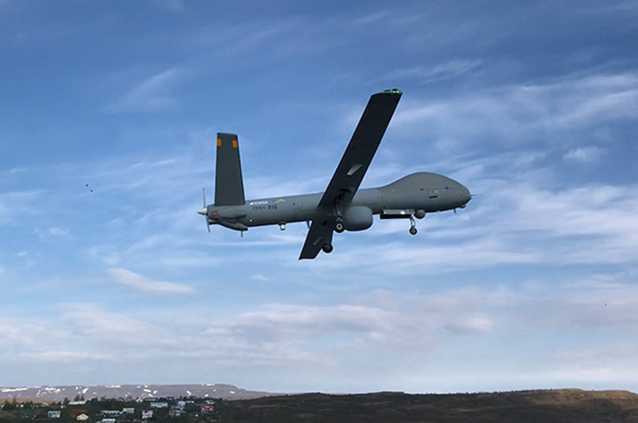 EU extends maritime surveillance with drones