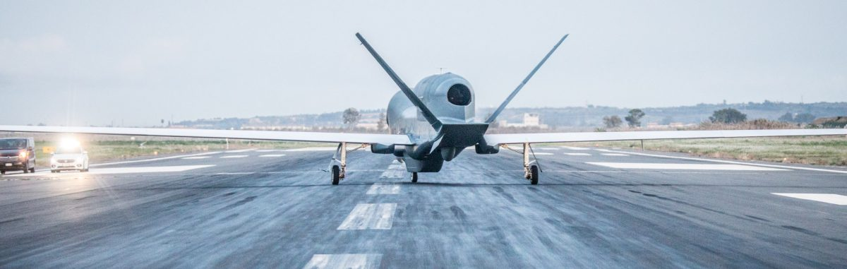 """Global Hawk"": New NATO drones fly over Italy, France and Germany"