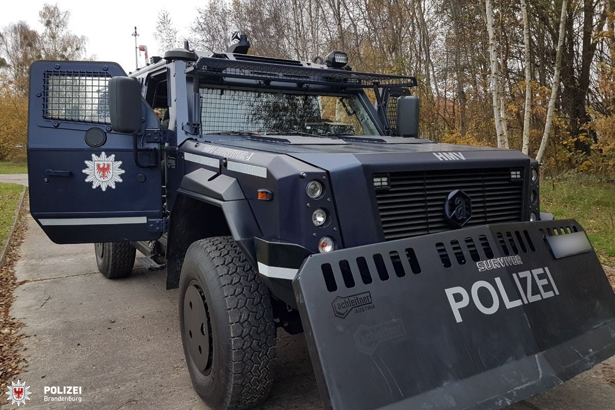 New tanks for the German police