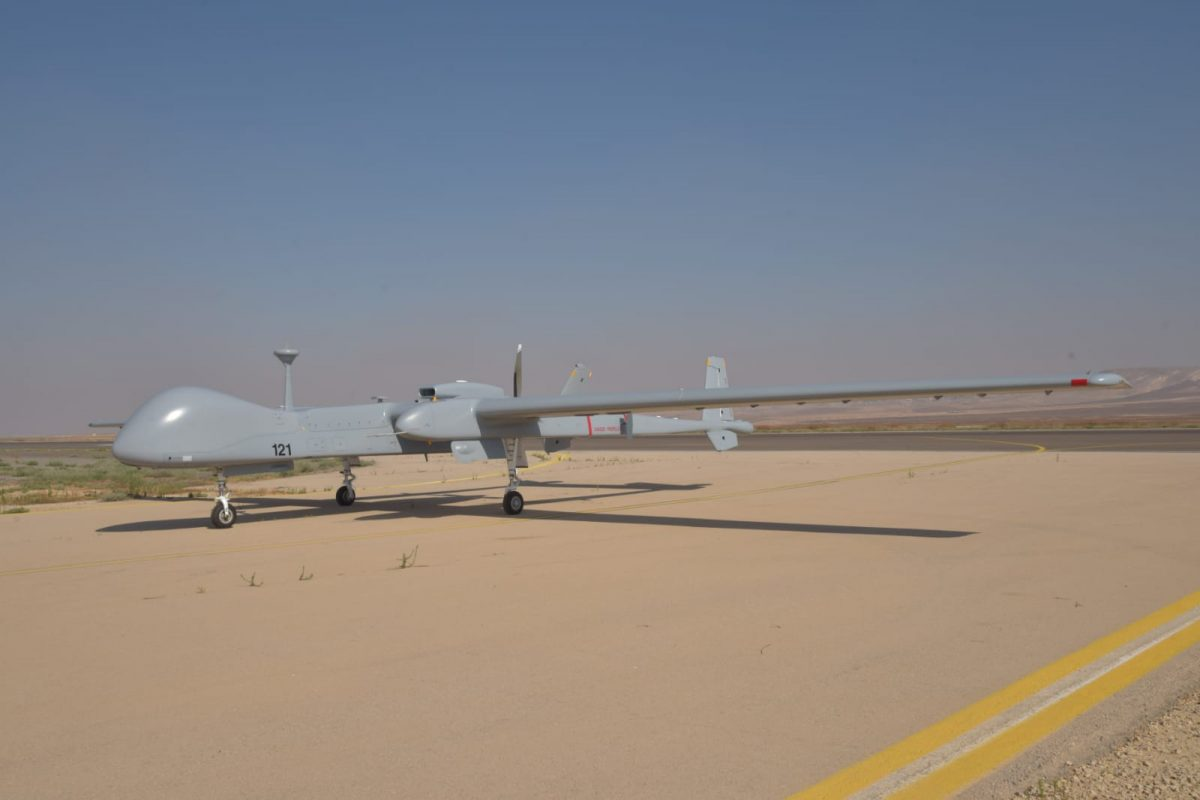 Stationing in Israel: New Bundeswehr drone completes first flight