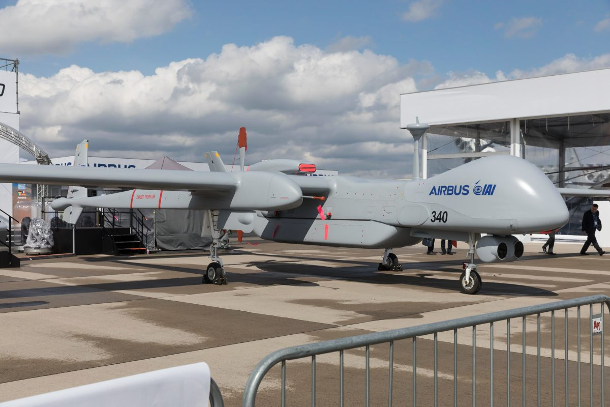 Iron will for unmanned air strikes