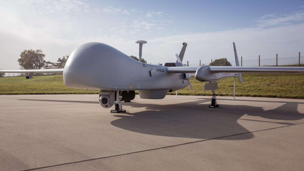 German Airbase in Jagel: Waiting for the drones