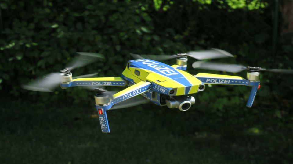 Police in Germany launch large-scale drone project