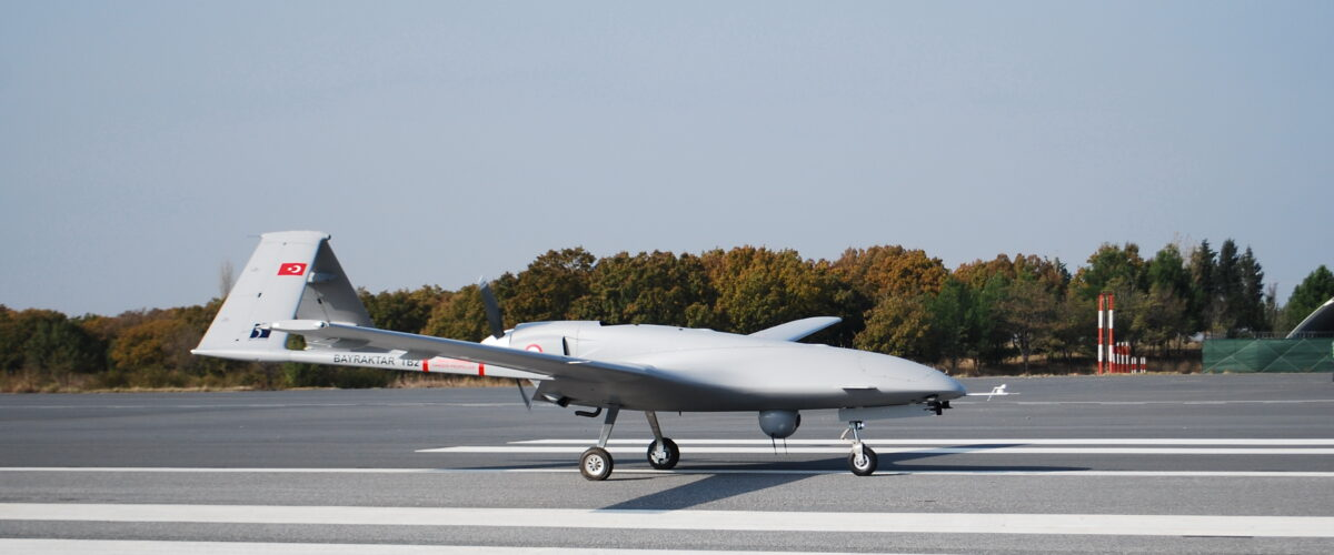 After the war over Nagorno-Karabakh: British military flirts with Turkish-style armed drones
