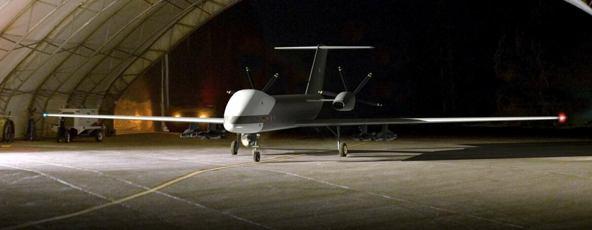 "The armed ""Eurodrone"" is also to fly with wiretapping technology"
