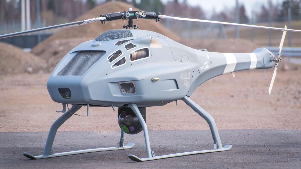 German Navy buys unmanned helicopters