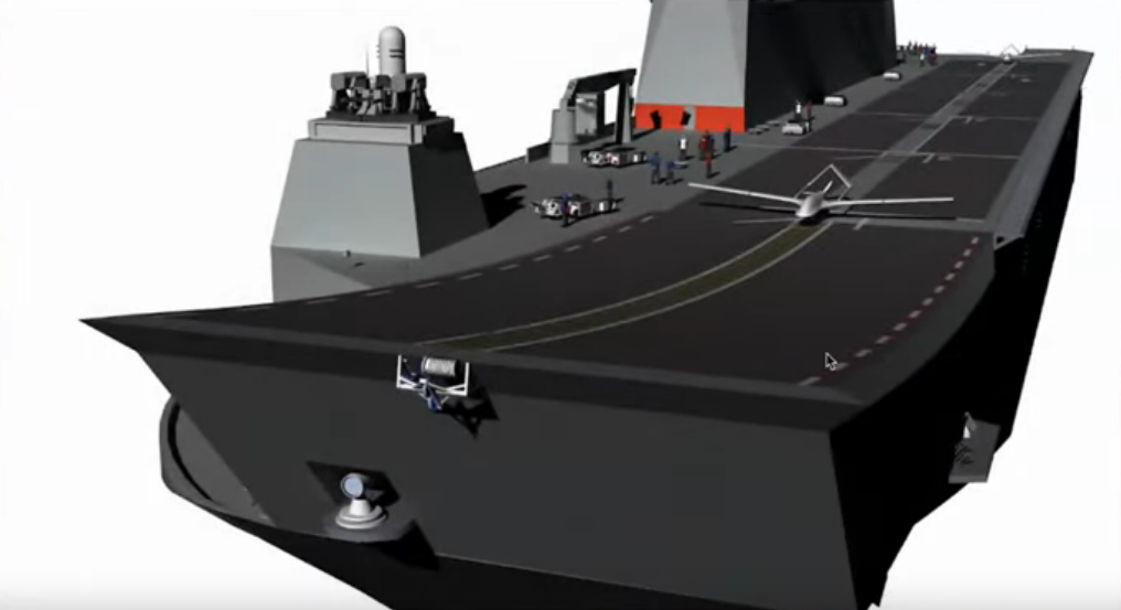 Erdoğan son-in-law wants to equip world's first drone carrier