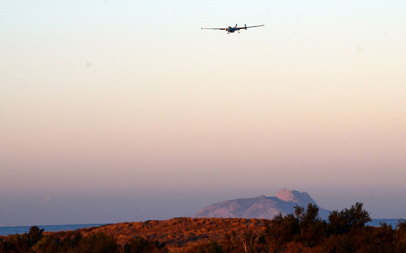 First test in Malta: Frontex drones approaching