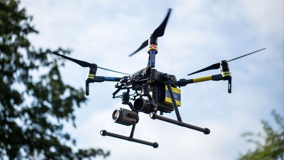 German police use drone to combat social benefit fraud