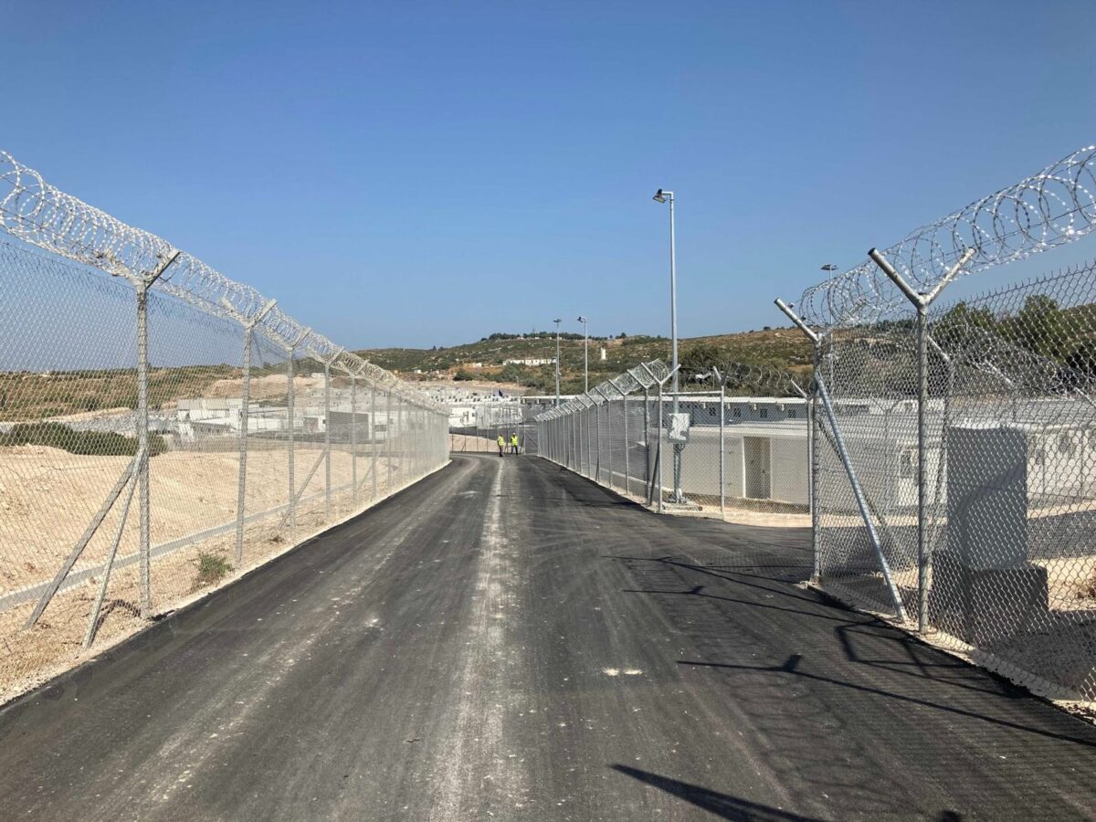 New camps in Greece: Panopticon for refugees