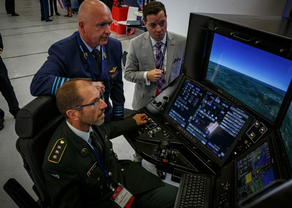 Flight campaign in the UK: Military drone operates in civilian airspace for the first time