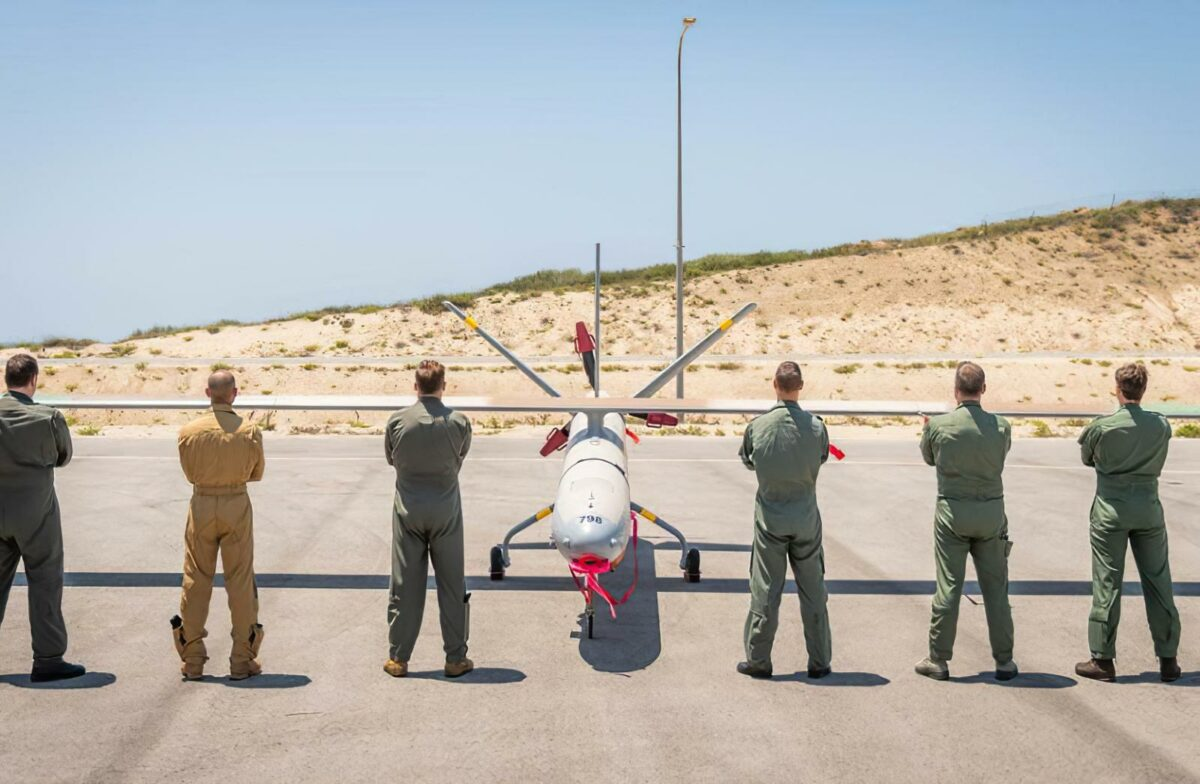 Joint exercise in Israel: German Luftwaffe take part in training with armed drones for the first time