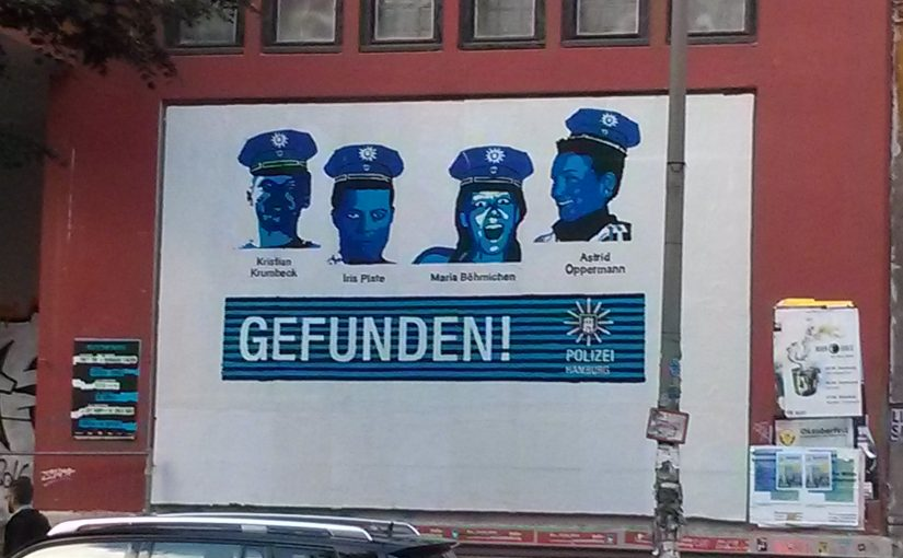 About the exposure of three undercover policewomen in Hamburg
